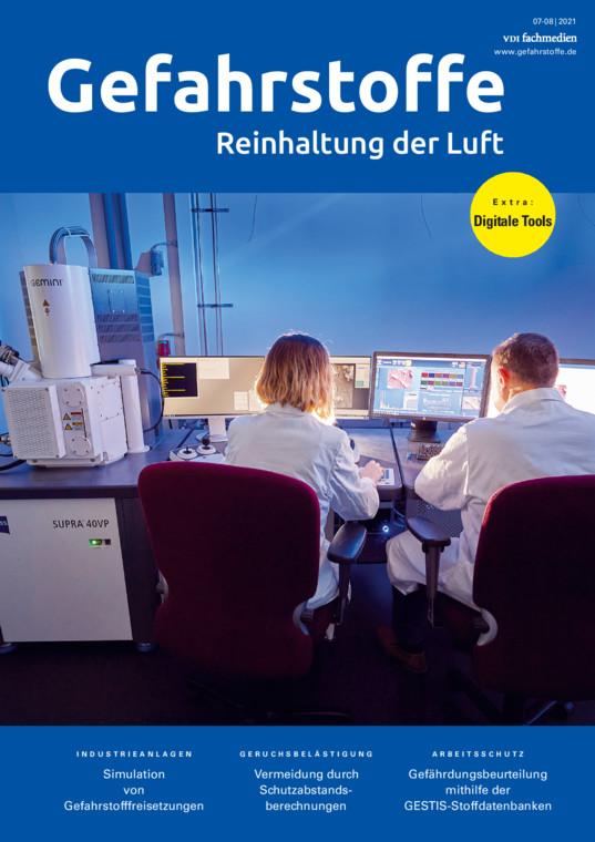 Gefahrstoffe - Reinhaltung der Luft
